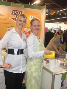 Im Einsatz für die BIOVEGAN GmbH