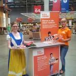 IKEA Family Card Promotion und Verkostung