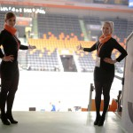 Unsere Hostessen im Einsatz für die Basketball Ulm GmbH