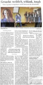 Ausschnitt Schwäbische Zeitung