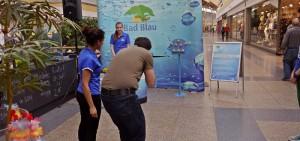 Aktion am verkaufsoffenen Sonntag im Blautal-Center Ulm