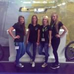 Wild Emotion Events Hostessen auf der Eurobike 2015 für Cannondale