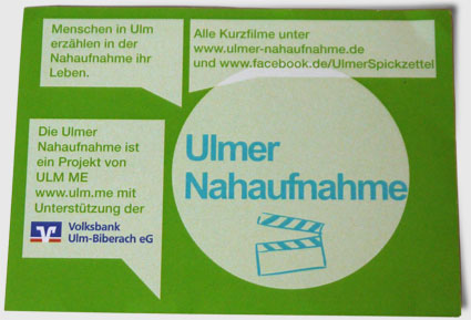 Foto: Flyer Ulmer Spickzettel 2014 Rückseite