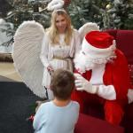 Weihnachtsengel und Weihnachtsmann
