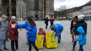 Unterwegs für IKEA Ulm