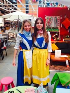 Im Einsatz für IKEA Ulm