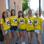 Unsere Promoterinnen unterwegs in Ulm für LOTTO Baden-Württemberg (25. Juli 2015)