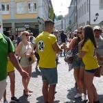 Promoterinnen und Promoter in Freiburg (11. Juli 2015)