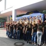 Wild Emotion Events Personal im Einsatz für die beckers GmbH