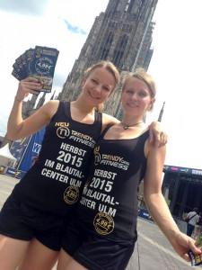 Unsere Promoterinnen im Einsatz für TRENDYone Fitness
