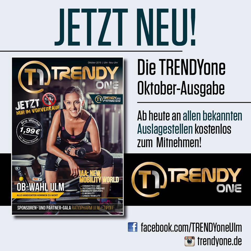 Das TRENDYone-Magazin (Oktober-Ausgabe 2015)