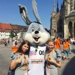 Unser Promotion-Team im Einsatz auf dem Münsterplatz für Nilfisk-ALTO