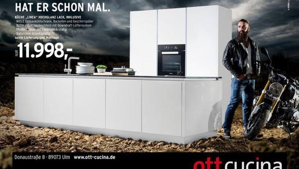 Shooting für ott cucina, Rampant Pictures