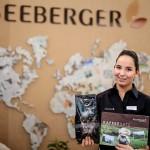 Unsere Hostess für Seeberger auf der Intergastra 2016 in Stuttgart