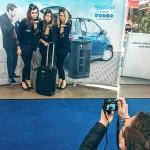 Einsatz unserer Hostessen für Braun Digitaldruck Ulm auf der wetec-Fachmesse 2016 in Stuttgart