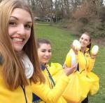 Unsere IKEA-Promoterinnen helfen dem Osterhasen auch in 2016