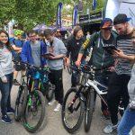 Hostessen für Cannondale beim BIKE Festival 2016 in Riva del Garda, Italien
