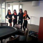 Wild Emotion Events VIP-Hostessen am Pokertisch bei der epex group in Ulm
