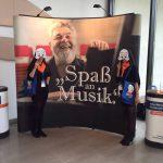 Unsere Hostessen beim neunten Deutschen Orchesterwettbewerb in Ulm