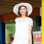 Sommerliche, italienische Mode bei der Modenschau im Bad Blau