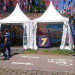 Radio7-Stand beim Internationalen Donaufest 2016