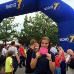 Unsere Promoterin im Einsatz für Radio7