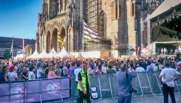 Donau3FM organisierte die Bühnenshow beim Schwörwochenende 2016