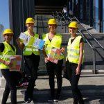 Gruppenfoto mit unseren Lotsinnen am Hauptbahnhof Ulm