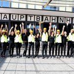 Gruppenfoto unserer Lotsen für die Stadt Ulm