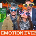 Die Wild Emotion Events Fotobox in der Ratiopharm Arena zur Business Contact 2016 in Neu-Ulm