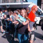 Promotion für Radio 7 beim Einstein Marathon 2016 in Ulm