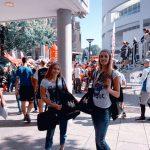 Wild Emotion Events Promoterinnen unterwegs für den Textildruck Royal League