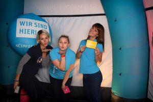 Unsere Promoterinnen für die Südwest Presse beim Open-Air Festival Wiblingen 2016