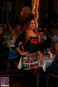 Wild Emotion Events Haarmodel beim Friseur Spektakel im Wiley Club