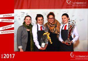 Unsere Fotobox auf der Messe FachGastroSüd 2017 in Ulm