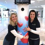 Wild Emotion Events Promotion mit unserer Fotobox in der Glacis Galerie (Valentinstag 2017)