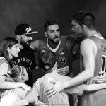 Making-Of-Foto der Werbekampagne für Basketball Ulm 2016