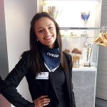 VIP-Hostess im neuen IVECO Kunden-Center