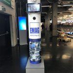 Die WILDE Fotobox in der ews Arena in Göppingen für die EMAG GmbH & Co. KG