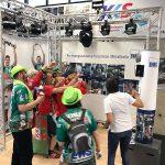 Die WILDEN Fotoboxen in der ews Arena in Göppingen für die EMAG GmbH & Co. KG