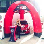 Promotion für Donau3FM im Mai 2017