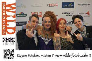 Die WILDE Fotobox bei der Fuck Cancer - Spendengala im Bürgerhaus Senden