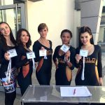 VIP-Hostessen bei der Fuck Cancer - Spendengala im Bürgerhaus Senden